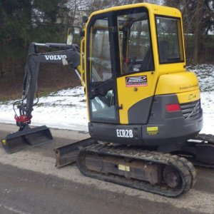 3.0T Zero Tail Swing Digger