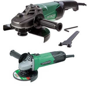 "Hitachi G23ST/G12SS 9"" and 4½"" Angle Grinder Kit"