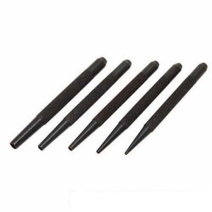 Silverline 5 Piece Nail Punch Set 1½mm - 5mm