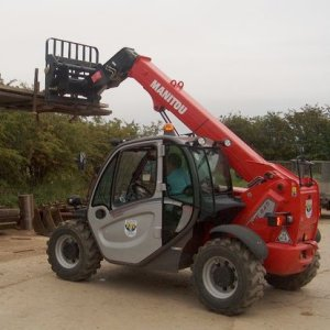 5/6m Low Headroom Telescopic Handler