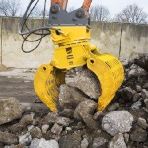 Rotational Grapple to fit 12-22 Tonne Excavator