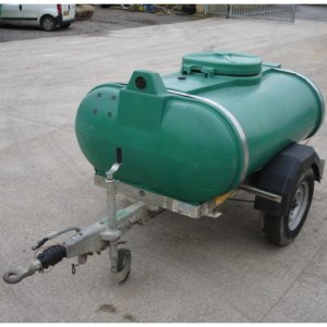 1250L (250gal) Road Tow Water Bowser