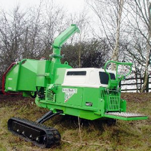 "7.5"" Wood Chipper - Tracked"